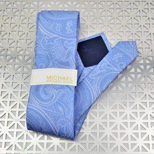 NWT 100% Silk MICHAEL KORS Petal Textured Tie
